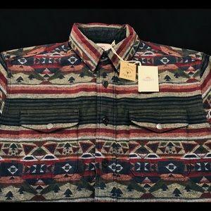 Faherty Durango CPO Shirt Jacket Medium